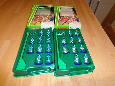 2 Complete  Subbuteo Table Soccer Teams In  743 Arsenal 2Nd & 745 Everton Boxes