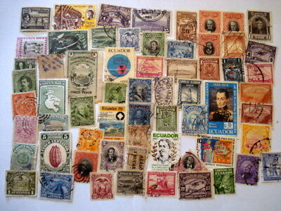 297 South / Central American Stamps Off Paper Used