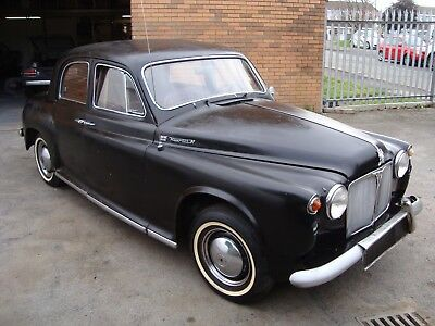 Rover 105R Auto 2.6 Saloon(1959) Black 95% Rustfree Usa Lhd Desert Find! Rare!