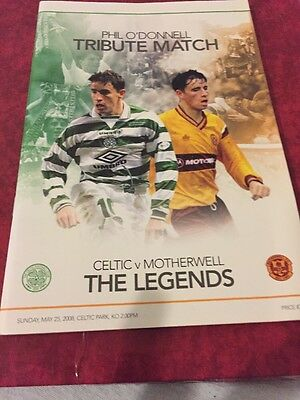 Celtic Legends V Motherwell Legends 25th May 2008 Phil O'Donnell Tribute Match