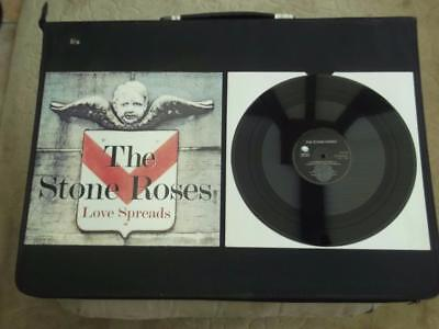 "The Stone Roses Love Spreads 1994 Uk Press 4 Track 12"" Vinyl Record E.p. Ex/ex"