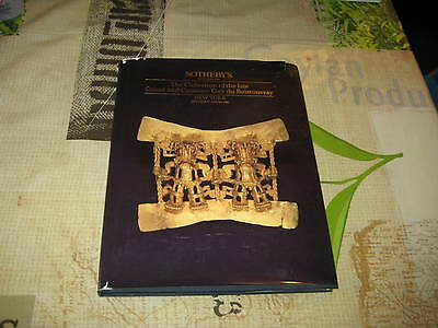 Sotheby's Catalogue Collection Guy Du Boistrouray Pre Columbian Art Faberge ++