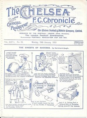 Reading v Crystal Palace FA Cup 3rd Round Replay at Chelsea 1930/31