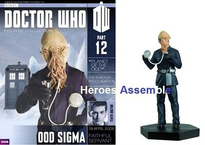 Official Doctor Who Figurine Collection #12 Ood Sigma New Eaglemoss