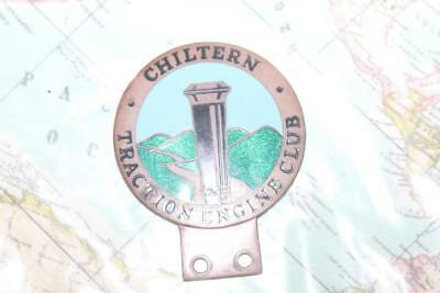 Chiltern Traction Engine Club car badge