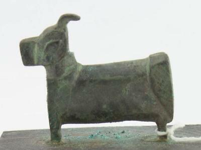 "NobleSpirit 3970 Luristan 1 1/2"" Figure of an Ox Half Cast Circa 900/800 B.C."