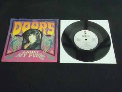 "The Doors Light My Fire 1991 Uk Press 7"" Vinyl Record Single"