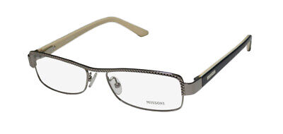 335f154c49 New Missoni 11803 Hip Brand Name Italian Designer Eyeglass Frame glasses  eyewear