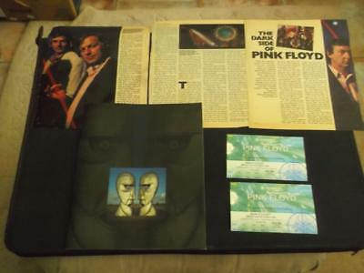 Pink Floyd 1994 European Concert Tour Programme With 2 X Tickets + Cut Outs