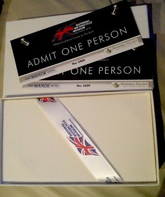 Two Tickets, 1 Adult, 1 Senior, National Motorcycle Museum Birmingham Giftboxed