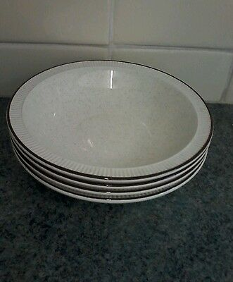 Poole Parkstone 7Ins Cereal Bowls X 4 Lovely