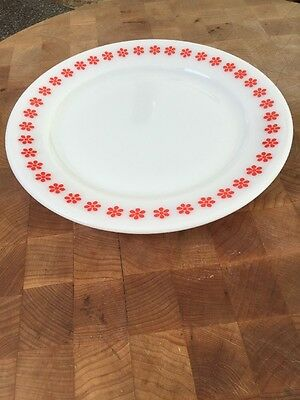 Pyrex Hard To Find Promotional  Under plate in the Friendship Pattern