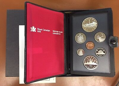 1984 Toronto Canada Commemorative Silver Double Dollar Set - TCC