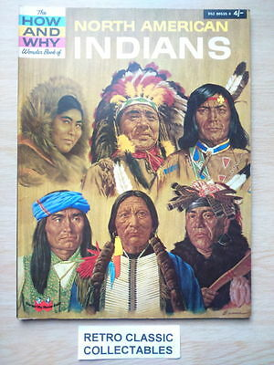 The How and Why Wonder Book of North American Indians - (Vintage 1967 edition.)