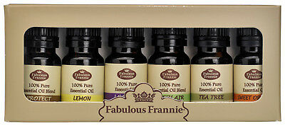 Pure Essential Oil Set - 6 Pack Sets - Choose Your Favorite by Fabulous Frannie
