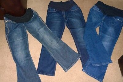 Next Maternity Jeans x 3 pairs, size 12 / 14