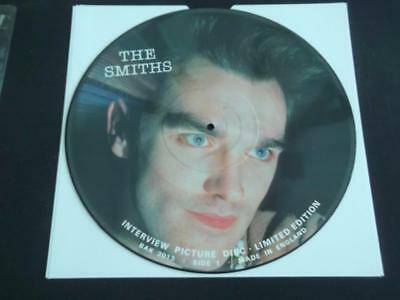 "The Smiths Interview Picture Disc 1987 Uk Press 12"" Vinyl Record Ex"