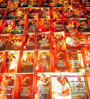 HARLEQUIN Desire Romance Book Lot of 67-PAPERBACKS/LOVE/RELATIONSHIPS/PASSION