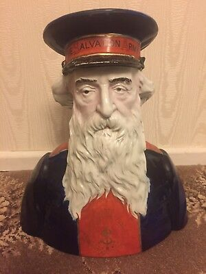 General William Booth Salvation Army Leader Very Rare Antique  Old Bust