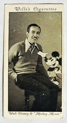 S738. VINTAGE: Wills's Cigarettes  WALT DISNEY & MICKEY MOUSE Card #24 (1931) [