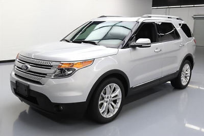 2015 Ford Explorer Limited Sport Utility 4-Door 2015 FORD EXPLORER LTD LEATHER DUAL SUNROOF NAV 19K MI #B89037 Texas Direct Auto
