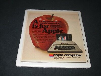 Apple Ii Computer-A Is For Apple-Original 1978 Print Ad