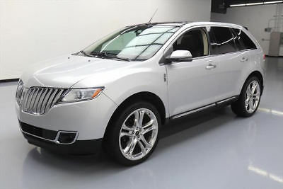 2014 Lincoln MKX  2014 LINCOLN MKX PANO ROOF NAV CLIMATE LEATHER 41K MI #L02403 Texas Direct Auto