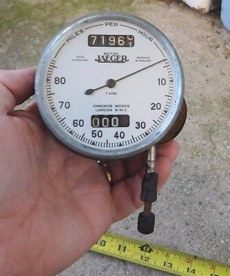 British Jaeger Speedometer For Antique Matchless Silver Arrow Motorcycle Gauge