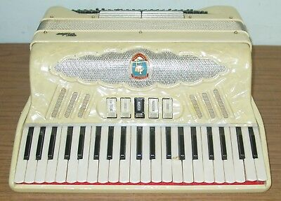 Pancordion Video Piano Accordion With The Case For Parts Or Repair Project Piece