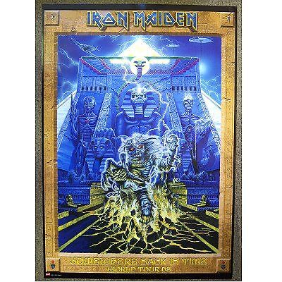Iron Maiden! Somewhere Back In Time 2008 Tour Poster