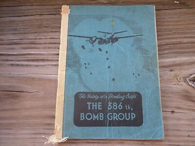 wwii aaf army air corps force unit history 386th bomb group ww2
