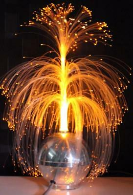 1970 Vintage Retro LIGHT - FIBRE OPTIC Tree Lamp Rotating