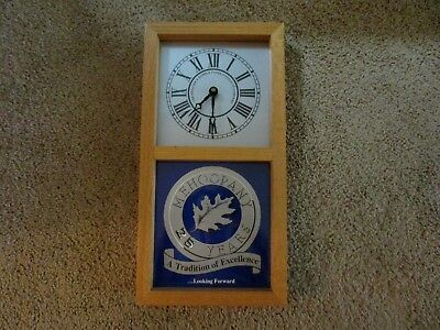 Procter & Gamble Paper Products-Mehoopany Plant-25 Years-Vintage Wall Clock