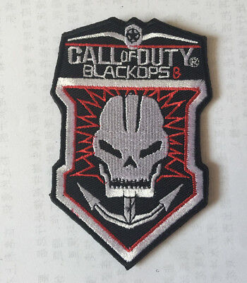 CALL OF DUTY BLACKOPS MORALE BADGES EMBROIDERED HOOK PATCH  sh 1037