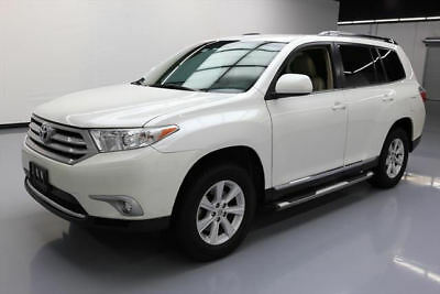 2013 Toyota Highlander  2013 TOYOTA HIGHLANDER PLUS LEATHER REAR CAM 60K MILES #090655 Texas Direct Auto