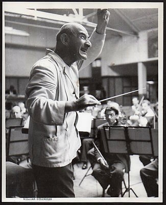 WILLIAM STEINBERG Pittsburgh Symphony Orchestra conductor VINTAGE ORIG PHOTO