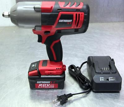 Earthquake 20V Max Lithium 1/2 in. Cordless Xtreme Torque Impact Wrench Kit