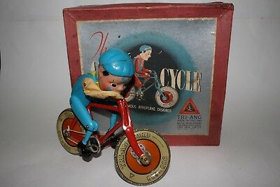 1950's Triang Toys Gyro-Cycle, Nice with Original Box
