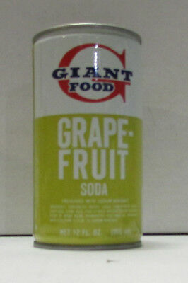giant food grapefruit soda steel soda can #4
