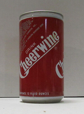 cheerwine salisbury nc steel soda can #19