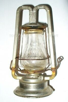 Rare Antique Ncl Nail City Crank Tubular Lantern Barn Dietz Salesman Sample Mini