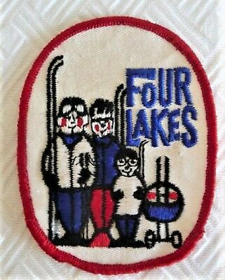 Old Four Lakes Illinois Snow Sports - Ski Patch ...  Souvenir
