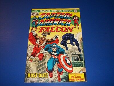 Captain America #171 Bronze age Black Panther Fine Beauty Wow