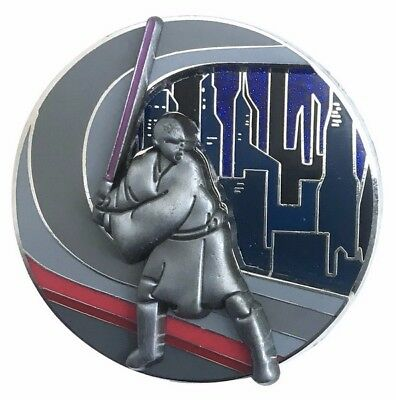 2017 Disney Star Wars Pin of the Month Coruscant LE-6000 Pin