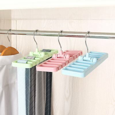 Magic Closet Storage Rack Tie Belt Scarf Organizer Hanger Holder Rack Eyeful XR