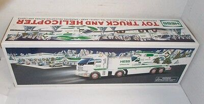 2006 Hess Toy Truck And Helicopter, Nib