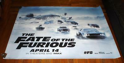 The Fate Of The Furious 5Ft Subway Movie Poster #2