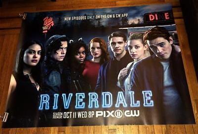 Cw Tv Riverdale 5Ft Subway Poster 2017 Archie Comics