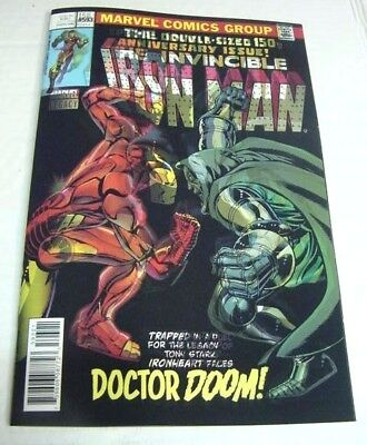 Iron Man #593 Homage To Dr Doom #150 Marvel Legacy 3D Lenticular Variant $3 Ship