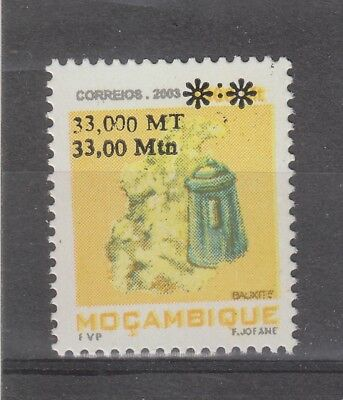 Mozambique #1748B? MNH 2006? Revalued Mineral Issue NEVER SEEN! O/P Variety
